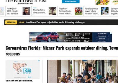 Mizner Park Palm Beach Post 05132020
