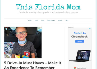 This Florida Mom – 5 Drive-In Must Haves