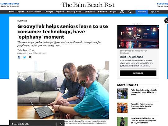 Groovy Tech Polin PR PalmBeachPost.com
