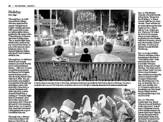 Polin PR placement in Sun-Sentinel for Mizer Park Boca Raton