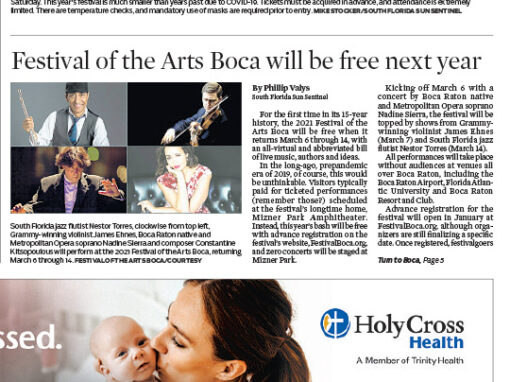 Festival of the Arts BOCA Sun Sentinel 12132020