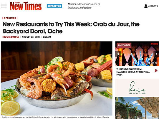 Polin PR placement in Miami New Times